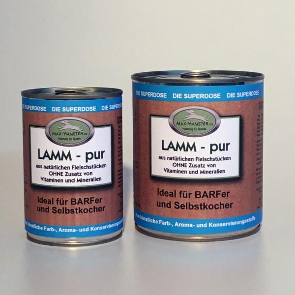 Lamm - pur Premium Dosenfleisch OHNE Zusätze