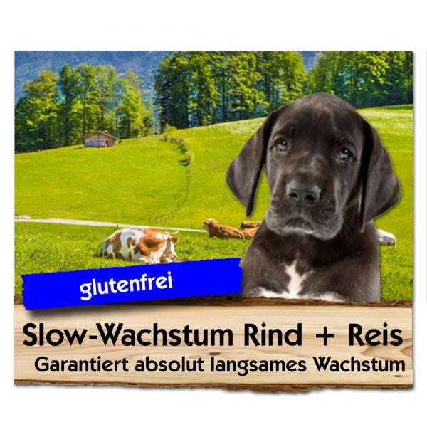 Slow Wachstum Rind + Reis | Max Hamster