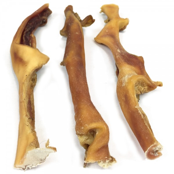 Rinder-Kopfhaut 30cm 2er Pack S | Max Hamster | natürlich und gesund