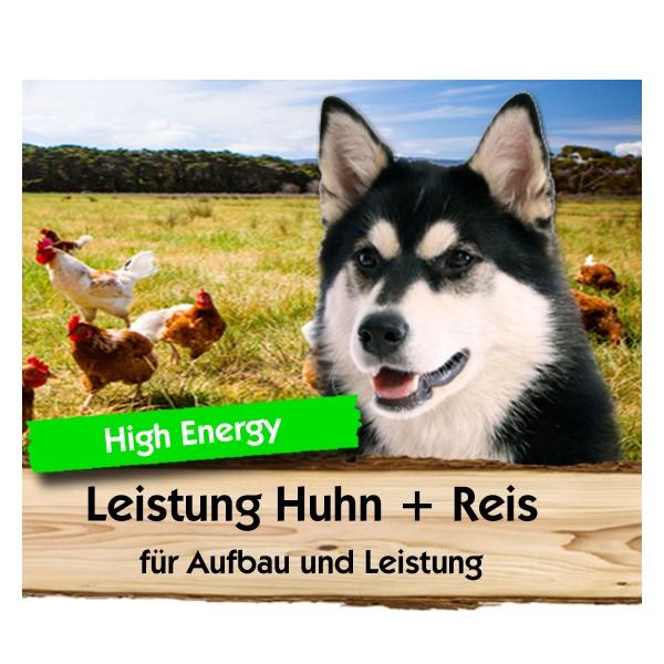 Leistung Huhn + Reis