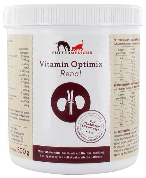 Vitamin-Optimix renal 500g Bei Niereninsuffizienz