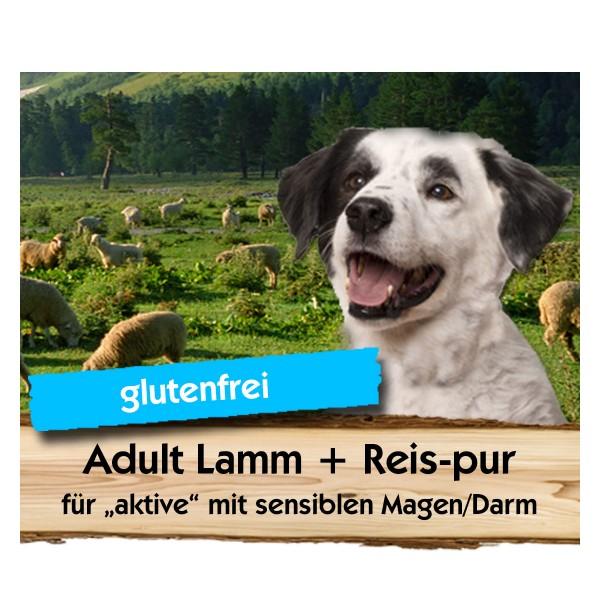 Adult Lamm + Reis-pur