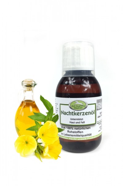 Nachtkerzenöl 100ml Unterstützung für Haut und Fell von Max Hamster