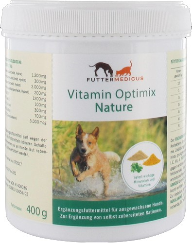 Vitamin- + Mineralienmischung Nature 400g