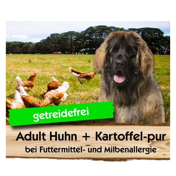 ADULT Huhn + Kartoffel-pur