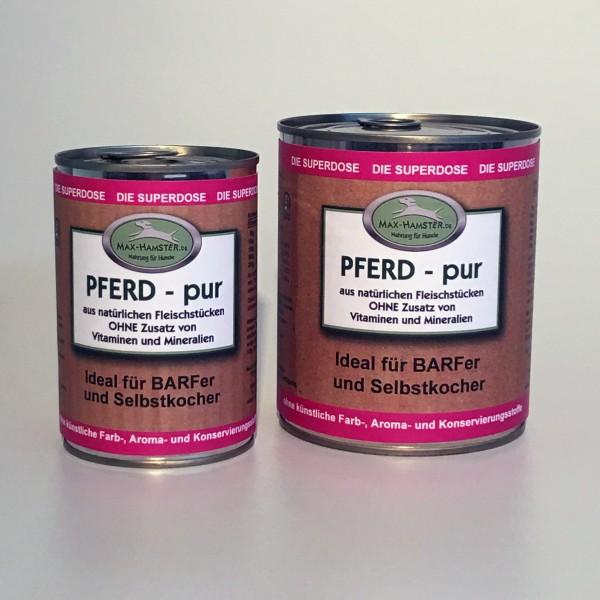Pferd - pur Premium Dosenfleisch OHNE Zusätze