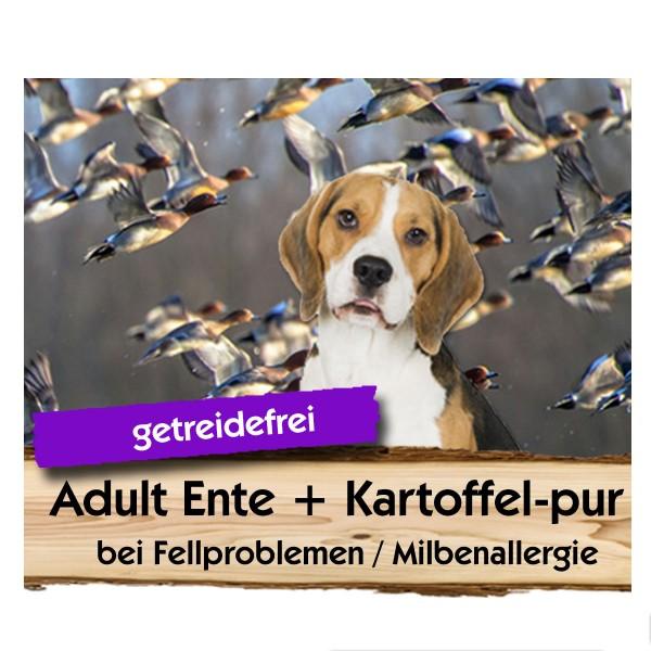 ADULT Ente + Kartoffel-pur