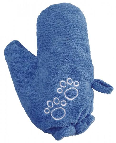 Trocken-Handschuh blau