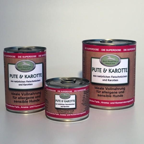 Pute und Karotte Premium Dosenmenü