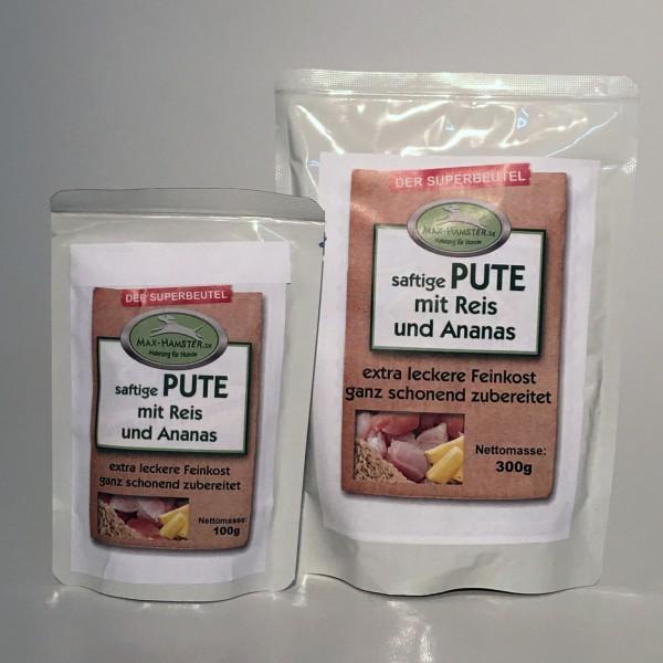 saftige PUTE mit Reis und Ananas - Premium-Feinkost