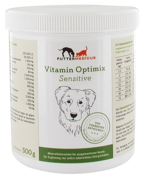 Vitamine Optimix Sensitive