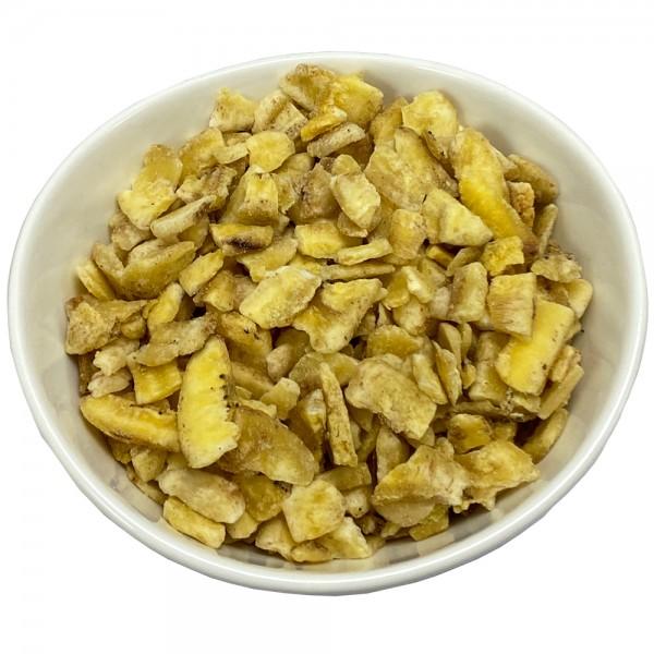 Bananen-Fruchtstückchen