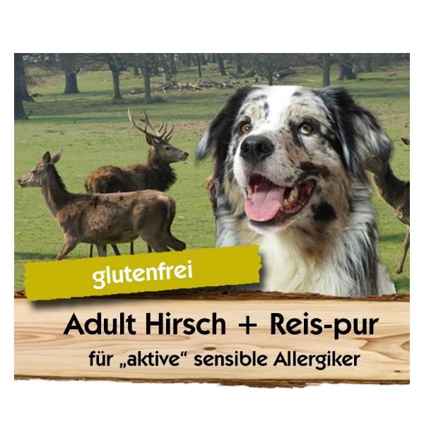 Adult Hirsch + Reis-pur