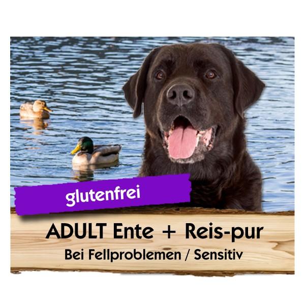 ADULT Ente + Reis-pur
