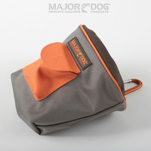 Futtertasche grau/orange von Major Dog
