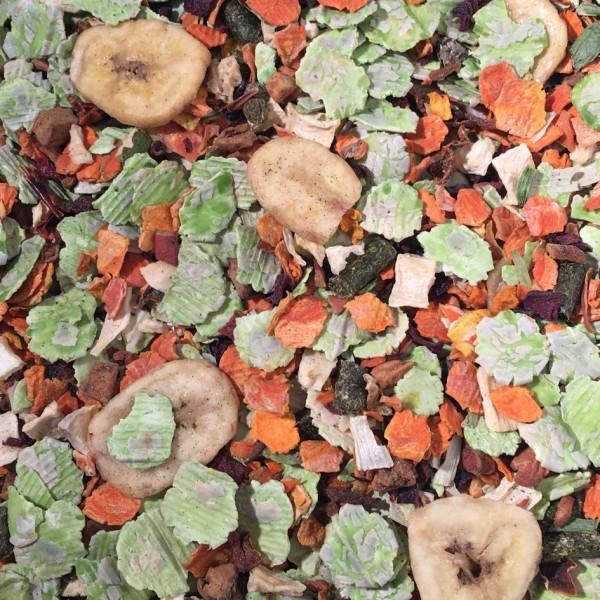 Obst und Gemüse getrocknet 200g von MAX-HAMSTER | Max Hamster