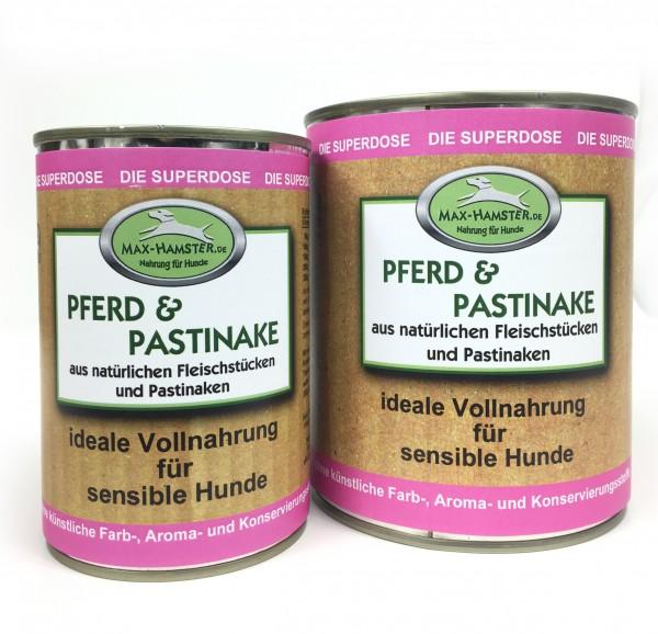 Pferd und Pastinake Premium Dosenmenü
