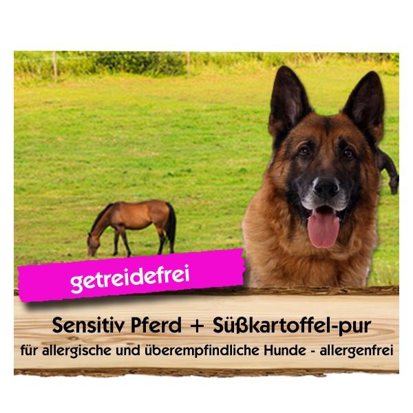 Sensitiv Pferd + Süßkartoffel-pur