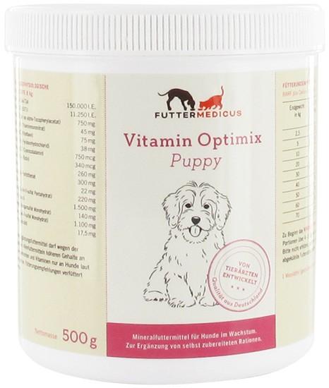 Vitamin- + Mineralienmischung Puppy 500