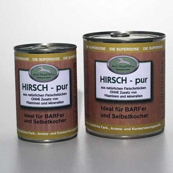 Hirsch - pur Premium Dosenfleisch OHNE Zusätze