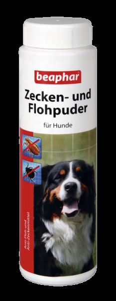 Zecken- und Flohpuder für Hunde
