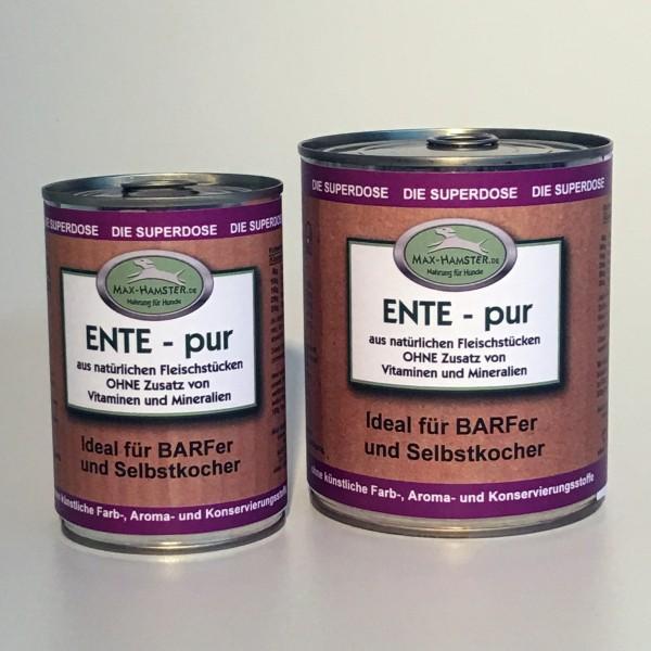 Ente - pur Premium Dosenfleisch OHNE Zusätze
